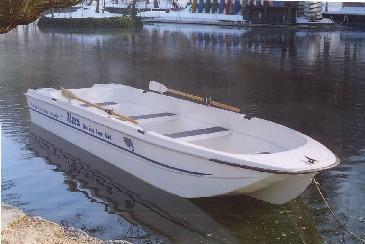 Tisza Fishing Boat 1 személlyel