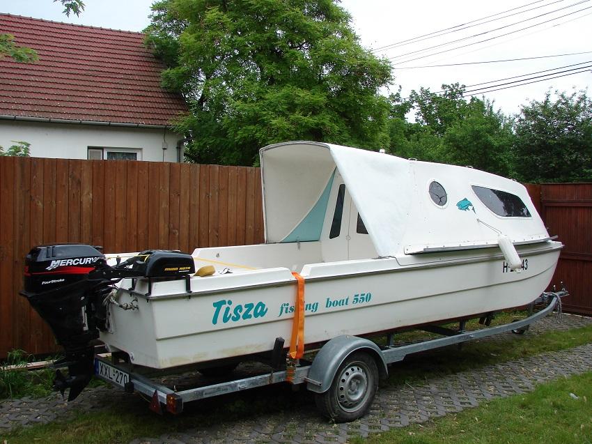 Tisza 550 csónak bővített 1