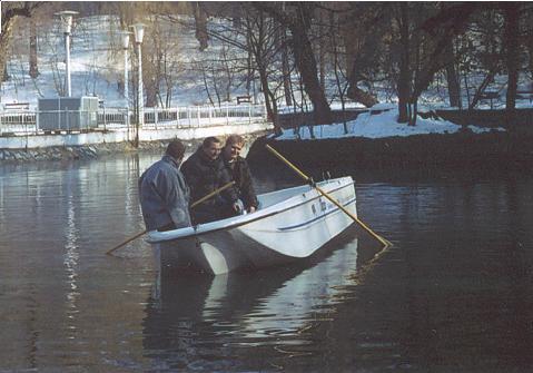 Tisza Fishing Boat 3 személlyel